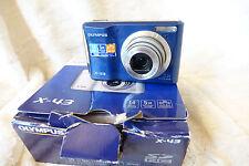Olympus X-Series X-43 14.0MP Digital Camera - Blue fully working