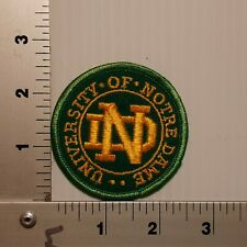 1990's NORTE DAME FIGHTING IRISH VINTAGE EMBROIDERED PATCH
