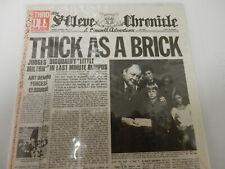 Jethro Tull-Thick AS Brick Japan Mini LP CD W/Obi and Insert Near Mint Long OOP