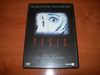 TESIS EDICIÓN ESPECIAL COLECCIONISTAS (2 DVD MUY BUEN ESTADO)