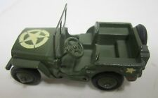 Vtg Dinky Toys US Army Military Jeep Die Cast Car Made In Englad Meccano Ltd.