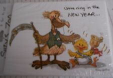 SUZYS ZOO NEW YEARS EVE INVITATIONS PACKAGE OF 8 PELICAN AND DUCK