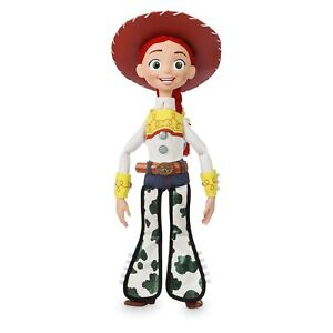 Disney Official Store Toy Story 4 Deluxe Talking Jessie Doll Toy Detector…