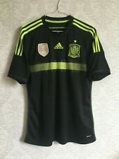 Spain Away football Soccer National Teams shirt 2013-2015 adidas Size M