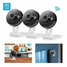NEW! 3 pack!!! Funlux 720p HD Wireless Smart Home Day Night Security Camera
