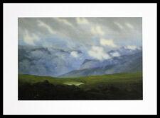 Caspar David Friedrich desenfunda nubes final póster imagen son impresiones artísticas y marco 30x40cm