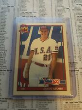 1991 Topps Traded Tiffany Jason Giambi #45T