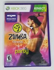 Zumba Fitness Join the Party (Microsoft Xbox 360, 2010) Kinect Video Game