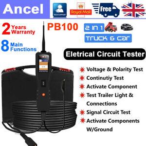 Ancel Car/Truck 12V&24V PowerScan Circuit Tester Electrical Power Probe AVOmeter