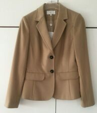 *NEW* Country Casuals,Short Jacket Two-Button Blazer,Camel,Size UK 10, RRP: £159