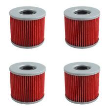 4 PCS Oil Filter FOR SUZUKI GS1000 GR650 GS1000E GS1000G GSX750 GSXR400 GS550