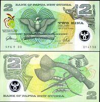 PAPUA NEW GUINEA 2 KINA 1991 P 12 POLYMER UNC