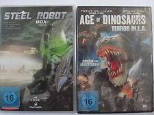 Action Sci.- Fi.- Sammlung - Steel Robot 1 - 4 & Age of Dinosaurs - Roboter Dino