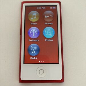 Apple iPod Nano 7th Generation 16GB (PRODUCT) Red Special Edition