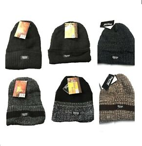 Soft Feel Thermal Insulated Knitted Beanies Warm for Winters-Men's