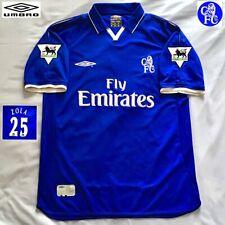 Original Chelsea Football Shirt ZOLA Vintage 2002/03 UMBRO EXCELLENT Jersey