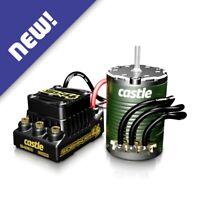 Castle Creations 010-0164-03 SW4 Sensorless ESC w / 1406 6900kv Motor Combo