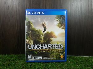(ASIA ENGLISH/CHINESE VERSION) PSV PS Vita Uncharted Golden Abyss (Used Game)