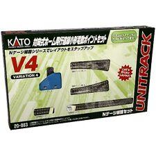 Kato 20-863 UNITRACK Variation Set V4 (N scale) Japan new .