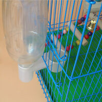 Pet Bird Plastic Drinker Feeder Water Bottle Cup Accessory For Chicken Pigeon ba