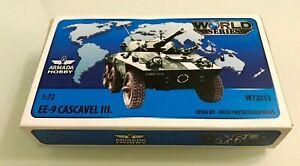 1/72 EE-9 Cascavel Ill-lV Brazilian 6x6 Armoured Car Armada hobby W72013