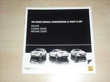 48977) Renault Koleos Laguna Coupe Megane Night & Day Prospekt 09/2009