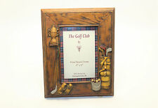 The Golf Club by Dezine Hand Painted 4X6 Golfer Picture Frame