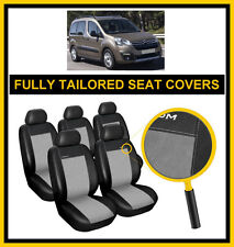 CITROEN BERLINGO XTR 2008 - ON  FULLY TAILORED SEAT COVERS  full set LEATHERETTE