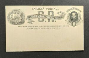 Mint Vintage Costa Rica Postal Stationary Postcard
