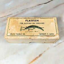 Vintage HELIN Light Underwater For Casting or Trolling Fishing Bait Lure w/ Box