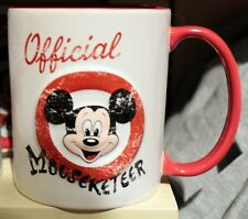 Vintage Mickey Mouse Club Mug Coffee Tea Cup Disney Theme Parks NEW