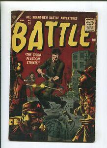 BATTLE #51 (4.5) 1957 THIRD PLATOON STRIKES