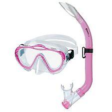 Mares Sharky Diving Mask/Snorkelling Tube Set for Children in Pink