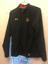 Under Armour Maryland Terrapins Full Zip Vented Jacket Size Medium New...