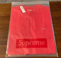 SUPREME SMALL BOX FW19 RED 100% AUTHENTIC BRAND NEW SIZE MEDIUM IN HAND
