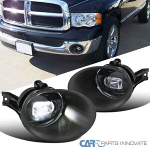 For 02-08 Dodge Ram Pickup Clear LED SMD Projector Fog Light Driving Bumper Lamp