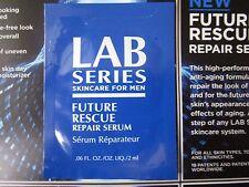 Lab Series Skincare For Men Future Rescue Repair Serum Sample 0.06 oz/2ml Travel