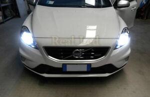 2x Bulbs H7 LED 90W Bright White 6500K Headlight Low Beam Volvo V40 2012-2018