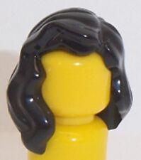 Lego Over Shoulder Hair x 1 Black for Minifigure