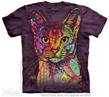 "Cat ""Abyssinian"" Adult T-Shirt The Mountain Dean Russo Pod"