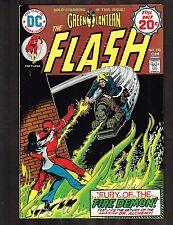 The Flash #232 ~ 1975 / Green Lantern, Fire Daemon (8.0) WH