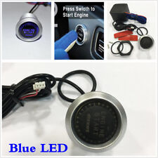Universal fit Car Engine Start Push Button Switch Ignition Starter Kit Blue LED