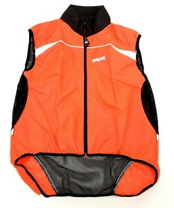 Proviz Gilet High Visibility Reflective Cycling Vest Bike, Orange, Adult Medium