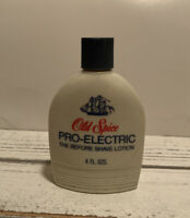 Vintage Shulton Old Spice PRO ELECTRIC  Shave Lotion
