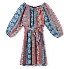 Girls' Lots of Love by Speechless Orange Dream Printed Chiffon A Line Dress, 10