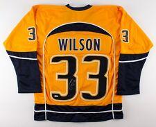 d8c370a8795 Colin Wilson Signed Predators Jersey (Beckett ) 7th Overall Pick 2008 NHL  Draft