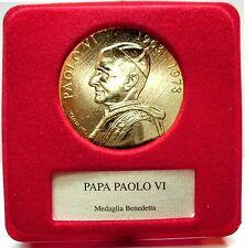 Papal States (Paolo VI) Medaglia Benedetta,Senesi Acqua