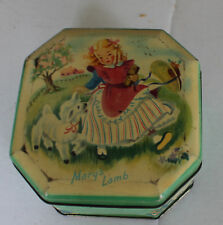 Vintage Mary Had a Little Lamb Mary's Lamb Candy Tin Made in England