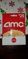 $25 AMC Theatres Gift Card