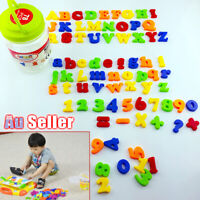 78PCS Learning Toy Xmas gift Magnetic Alphabet Letters Numbers Fridge Magnets